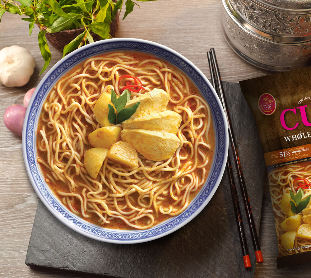 Curry Wholegrain LaMian
