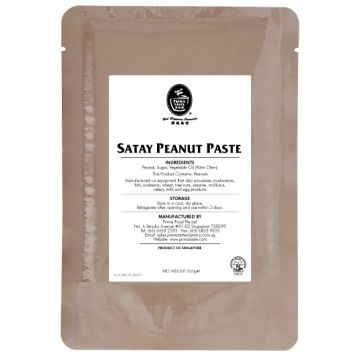 Satay Peanut Paste