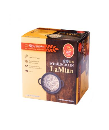 Wholegrain LaMian (Premium Non-fried Noodles)