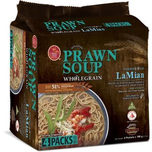 Prawn Soup Wholegrain LaMian